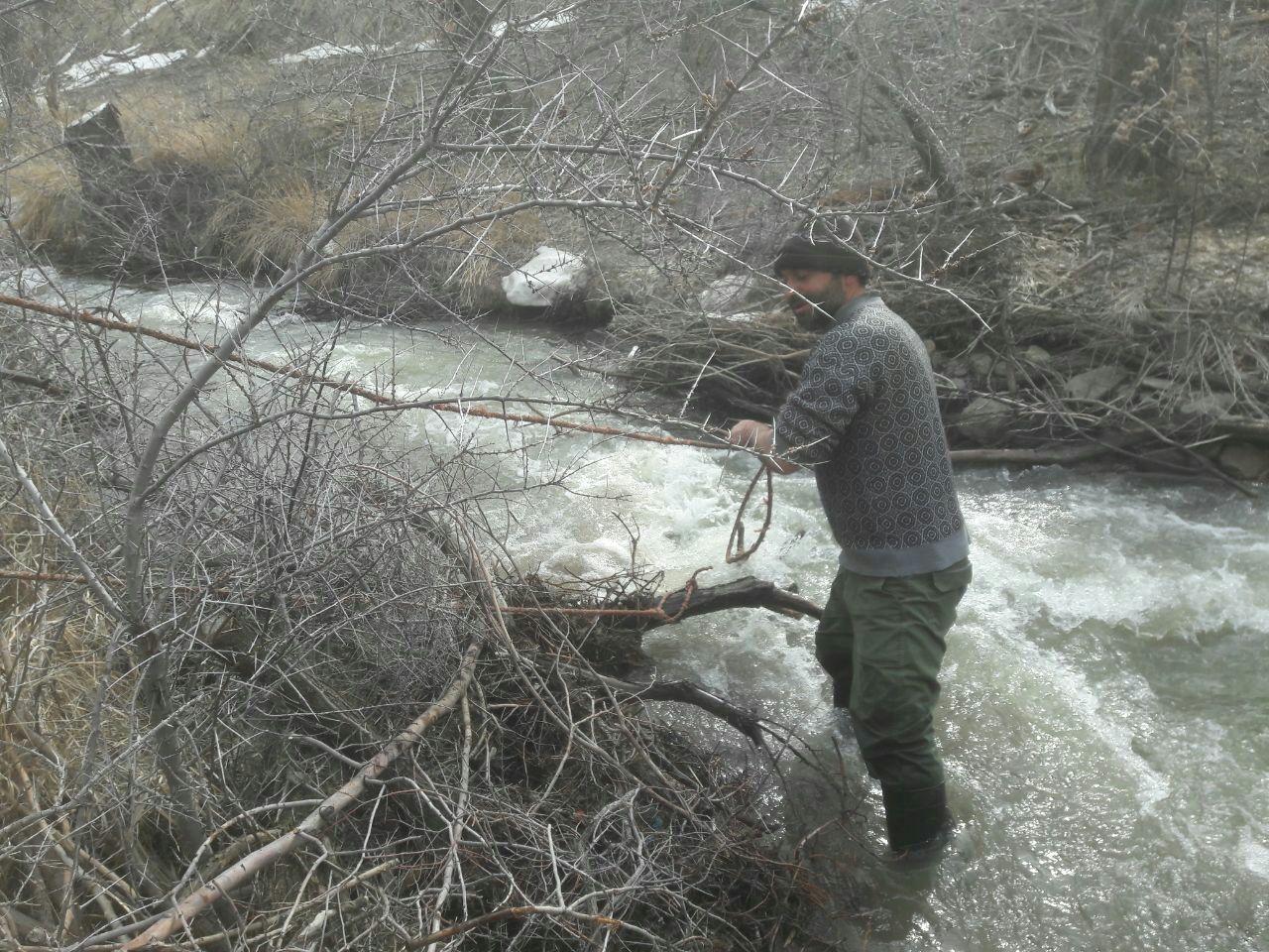 لایروبی بستر رودخانه
