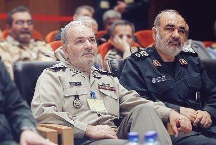 عکس دیده نشده از برادران سپاهی و ارتشی
