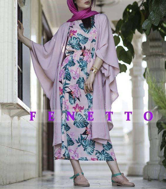 مدل مانتو تابستانی دخترانه 7