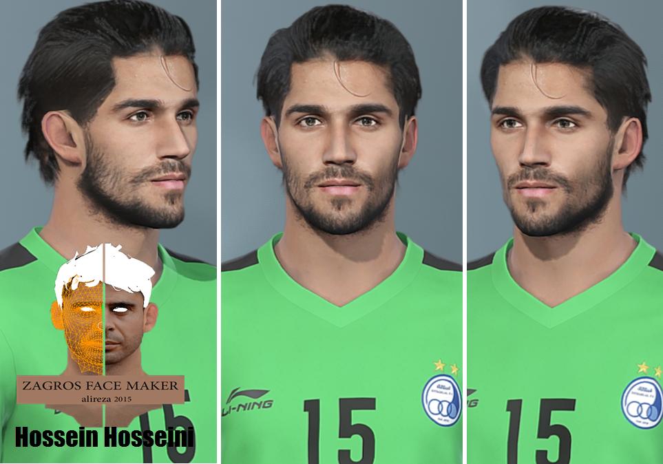 فیس حسین حسینی دروازبان استقلال 2019