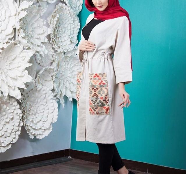مدل مانتو جدید تابستانه ایرانی