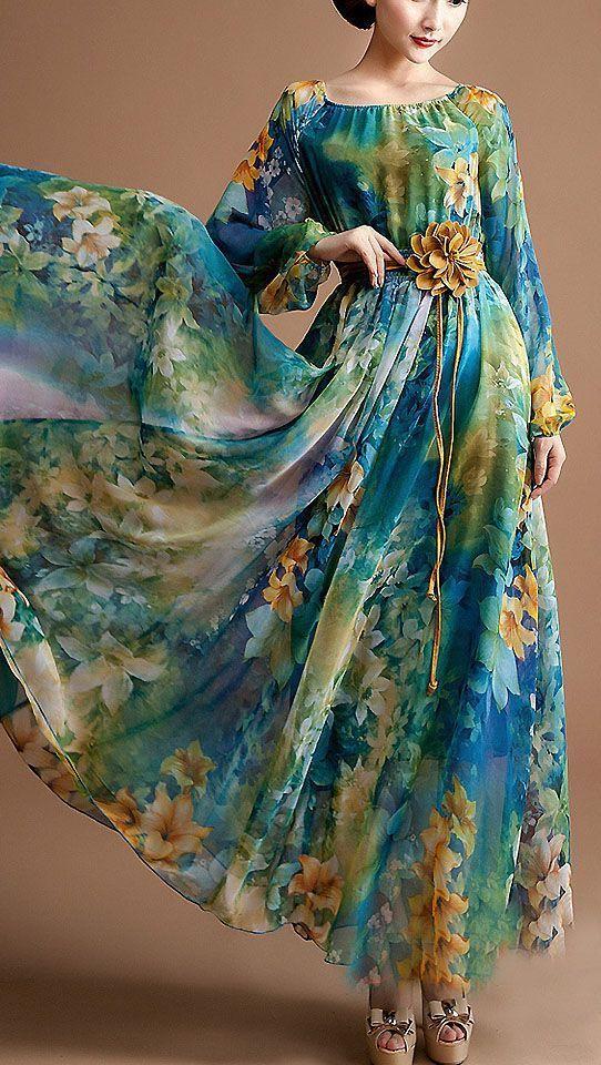 مدل لباس بلند بیرونی زنانه