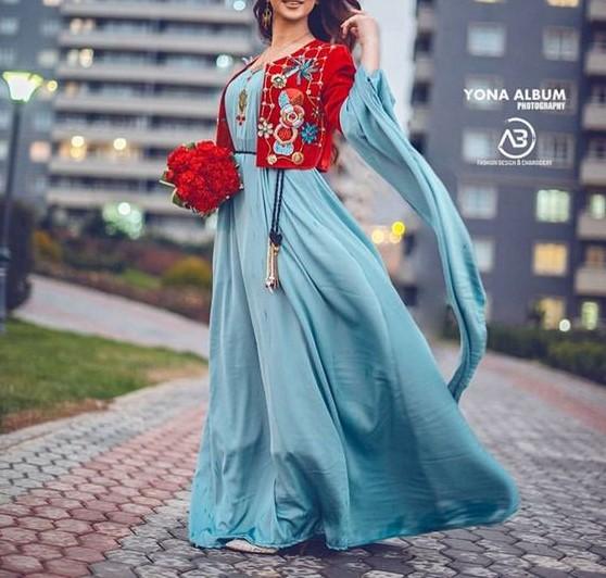 مدل لباس کردی دخترانه در اینستاگرام