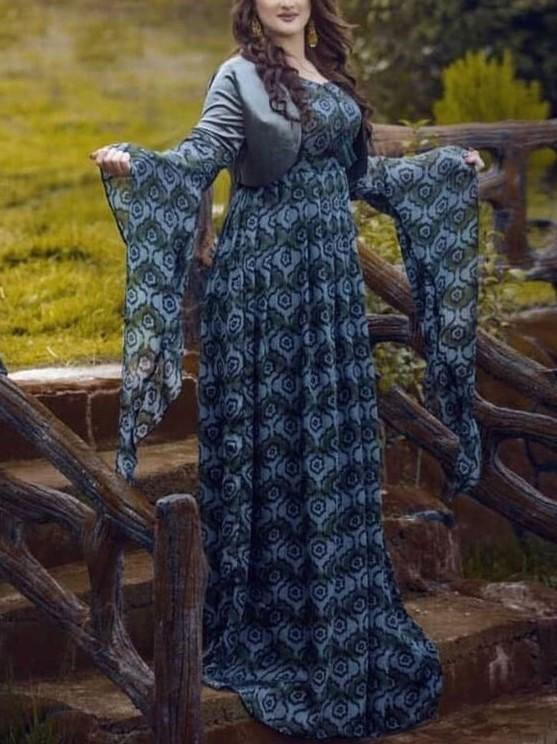 مدل لباس کردی زنانه عراقی