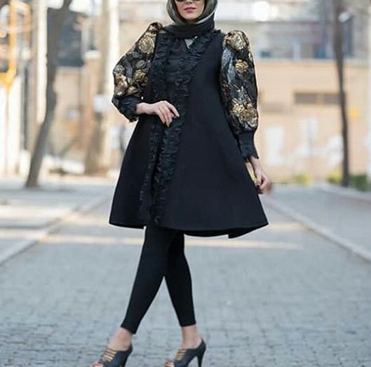 مدل مانتو دخترانه ترکی