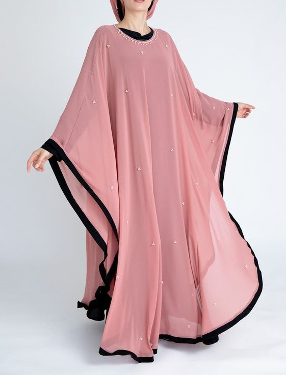 مدل مانتو عبایی اماراتی