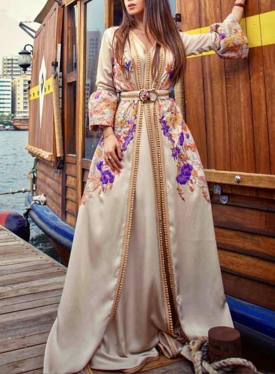 مدل لباس مجلسی بلند زنانه کارشده