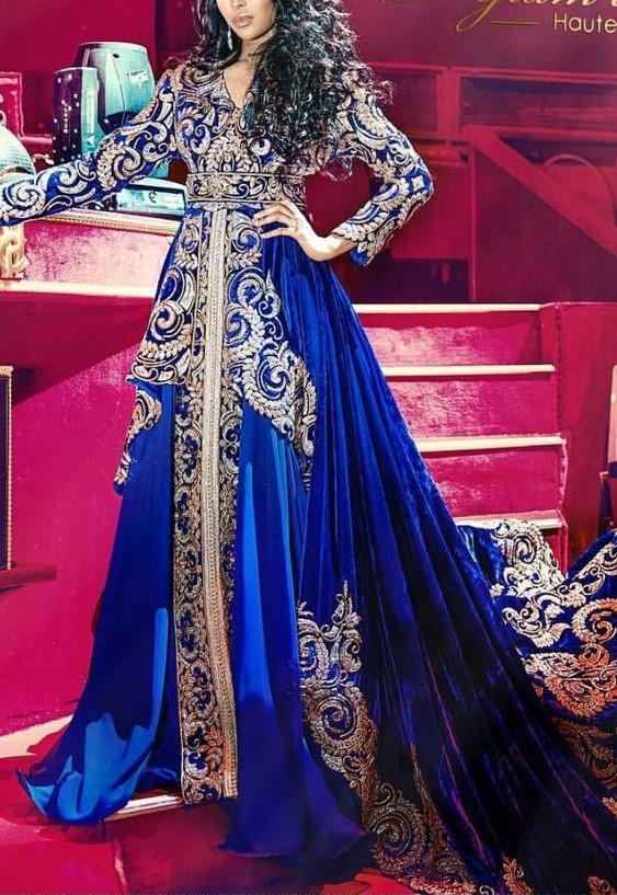 مدل لباس های مجلسی عربی بلند