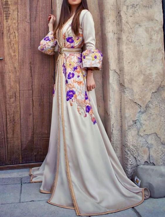 مدل لباس مجلسی عربی بلند جدید
