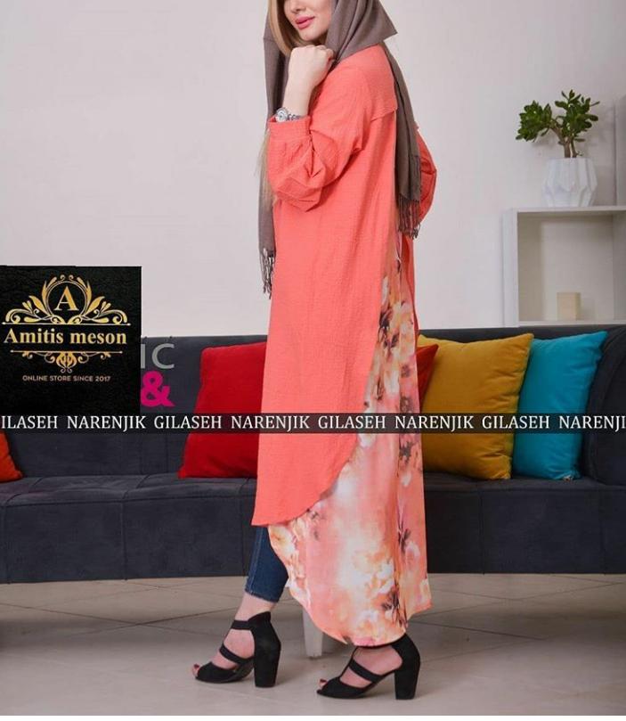مدل مانتو شیک دخترانه فصل تابستان 2019