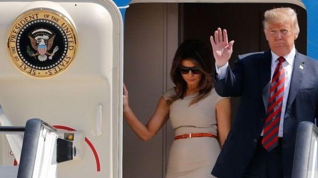 دونالد ترامپ برای دیداری رسمی به بریتانیا میرود
