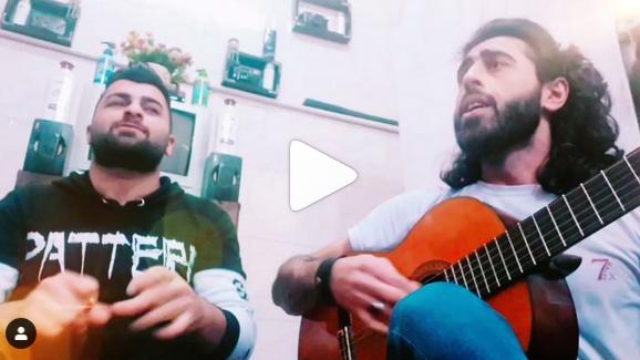 کلیپ اجرای بداهه ترانه دیوونه دلم از عماد قلی پور