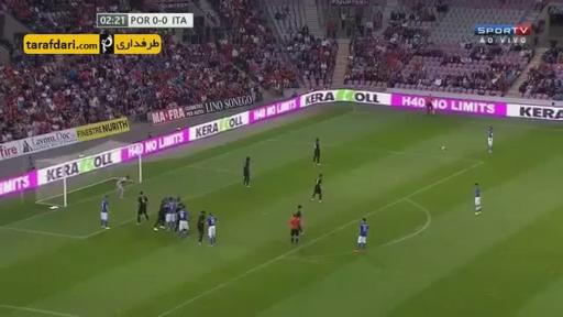 خلاصه بازی ایتالیا 0-1 پرتغال