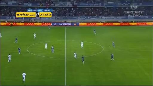 خلاصه بازی آرژانتین 1-0 اروگوئه