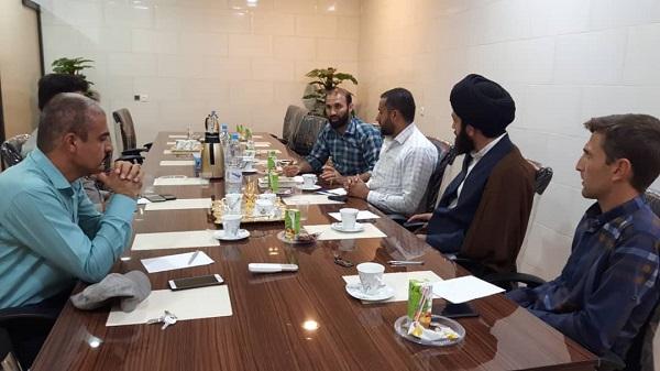 برگزاری جلسه هماهنگی اردوی جهادی دانشجویی با حضور شهردار بوشکان