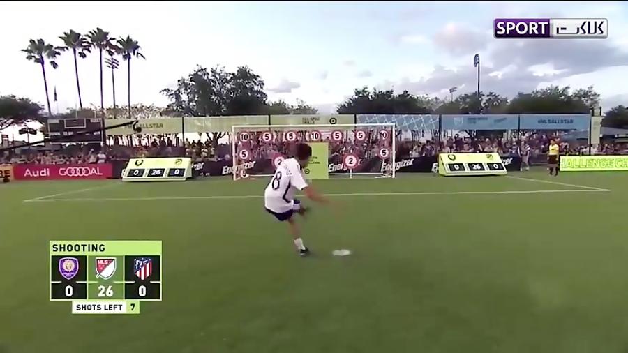 چالش جذاب ستارگان MLS با بازیکنان اتلتیکومادرید