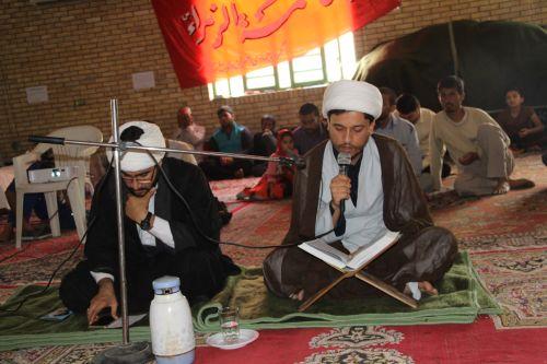 دعای پرفیض عرفه در حسینیه ابوالفضل (ع) شهر بوشکان برگزار شد+تصاویر