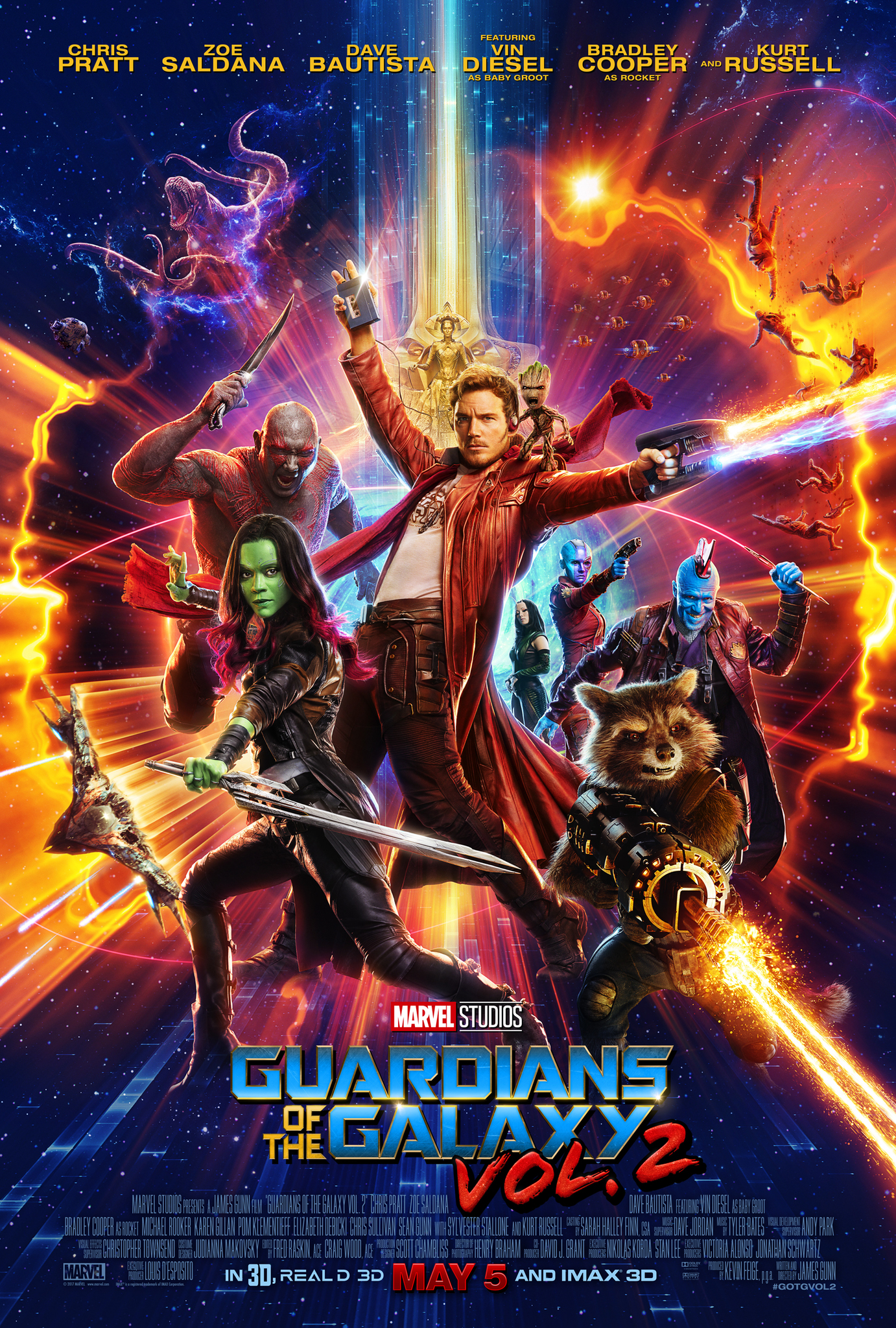 دانلود فیلم Guardians Of The Galaxy Vol 2 2017