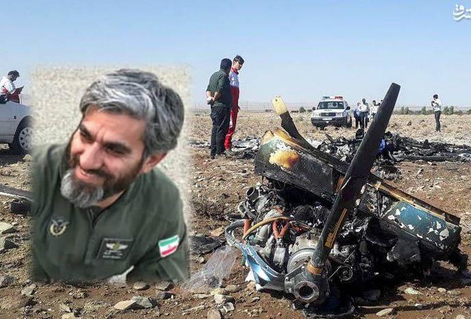 بیوگرافی خلبان مجید فتحی نژاد + فیلم لحظه سقوط