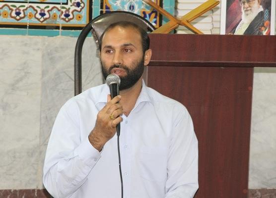 حجت اله پارمان مسئول قرارگاه جهادی شهید شوشتری بسیج دانشجویی استان بوشهر شد