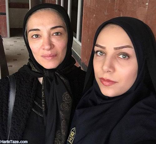 زهرا فراهانی راد بازیگر و گوینده | بیوگرافی زهرا فراهانی راد و همسرش