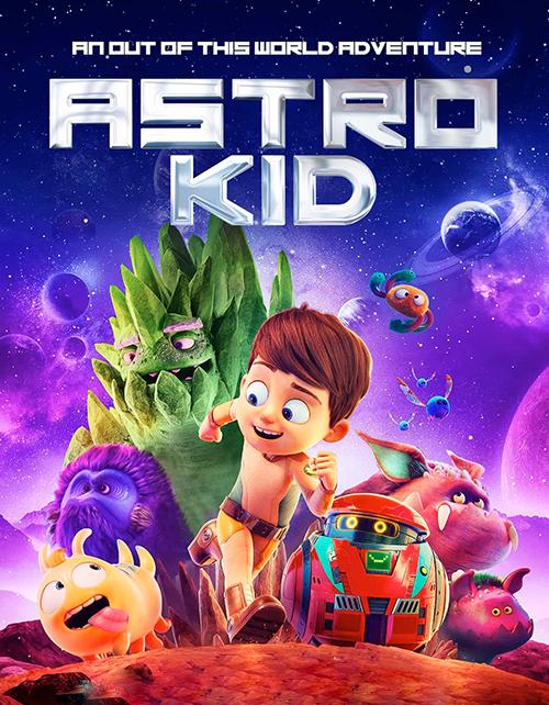 دانلود رایگان انیمیشن بچه فضایی (آسترو کید) Astro Kid 2019 BluRay