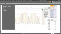 آموزش اکسل پیشرفته | ساخت نمودار قالب بندی شرطی و ایجاد دکمه رادیویی