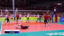 والیبال بلغارستان 3-1 آمریکا