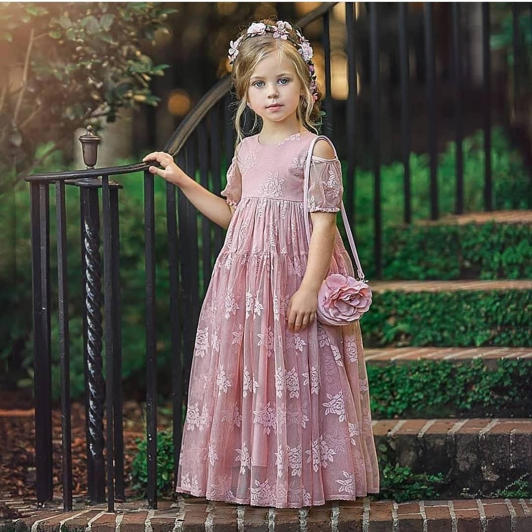 مدل لباس شیک دختربچه 2019