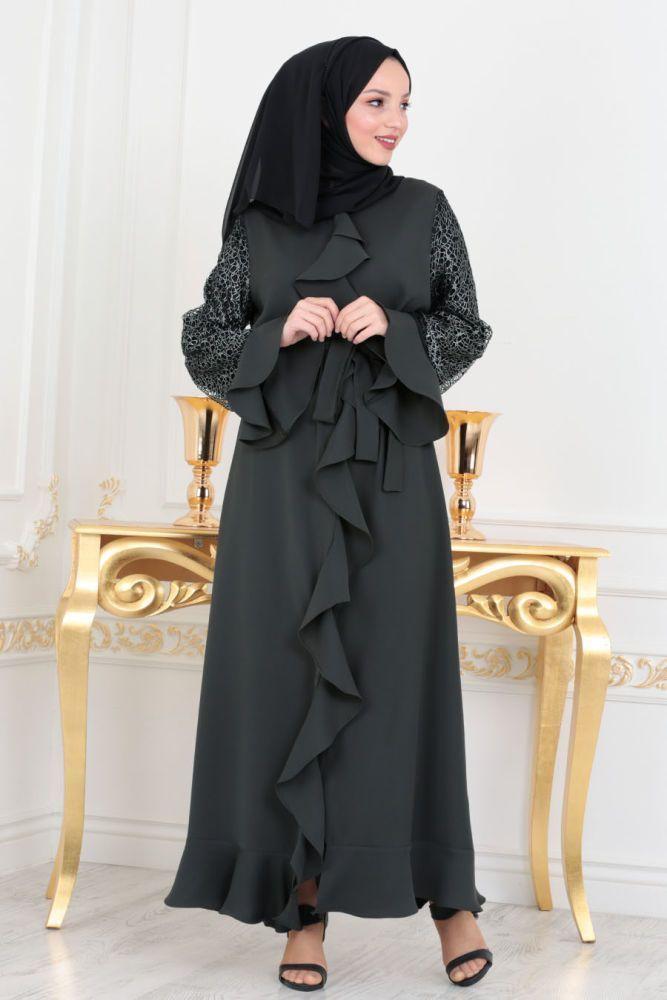 مدل مانتو بلند عربی 98