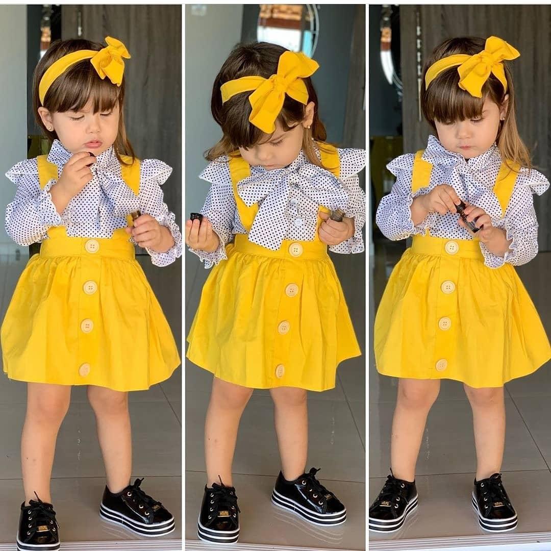 مدل لباس دختربچه شیک و جدید 2019