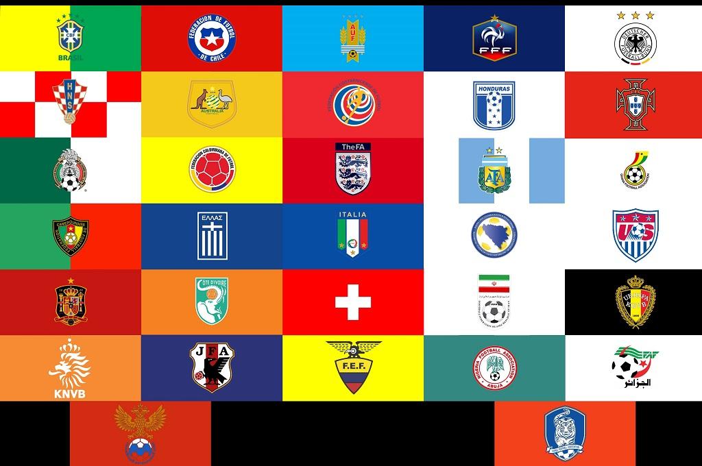 کیت پک تمامی تیم های ملی حاضر دنیای فوتبال