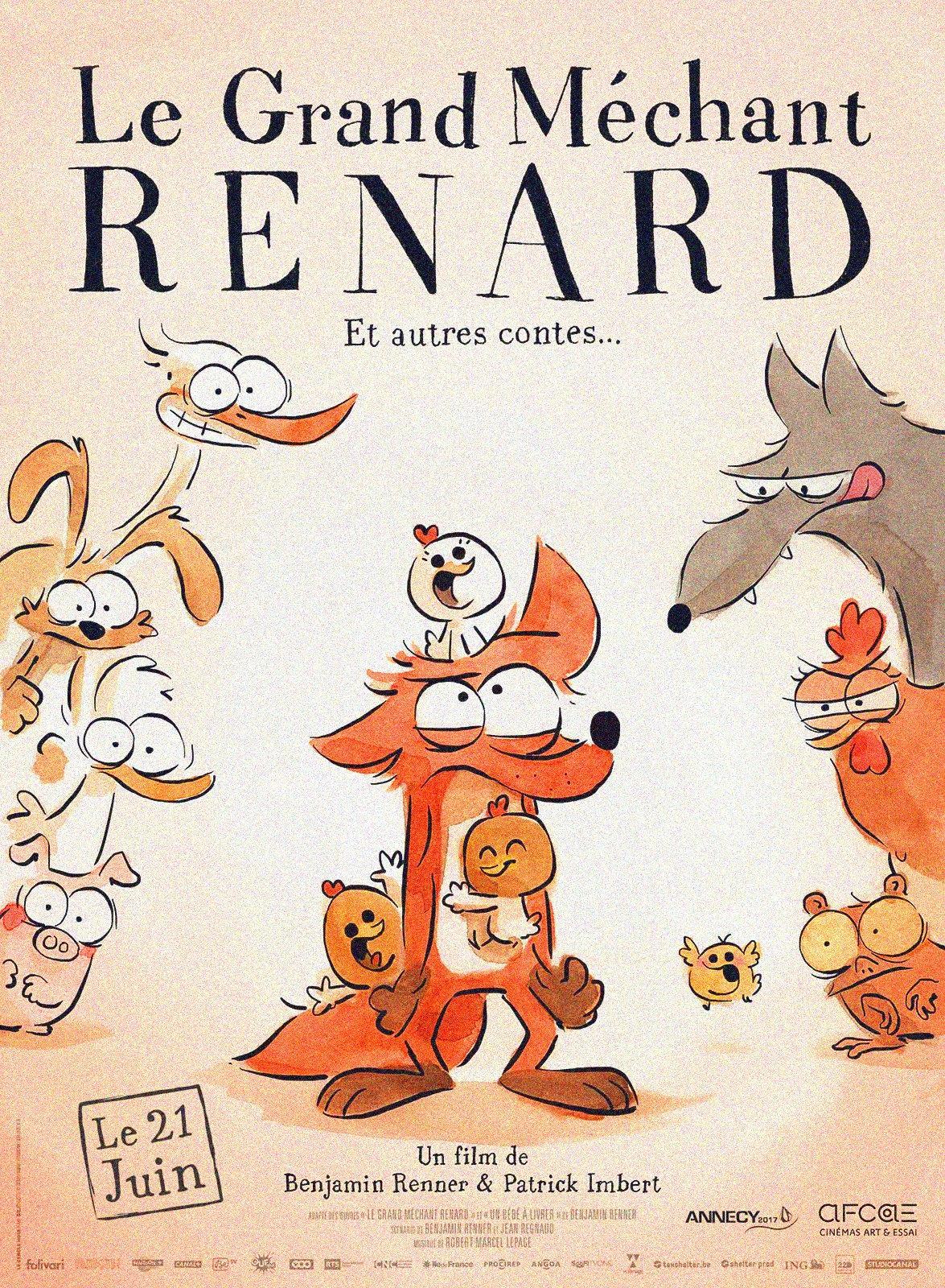 دانلود مستقیم فیلم The Big Bad Fox And Other Tales 2017