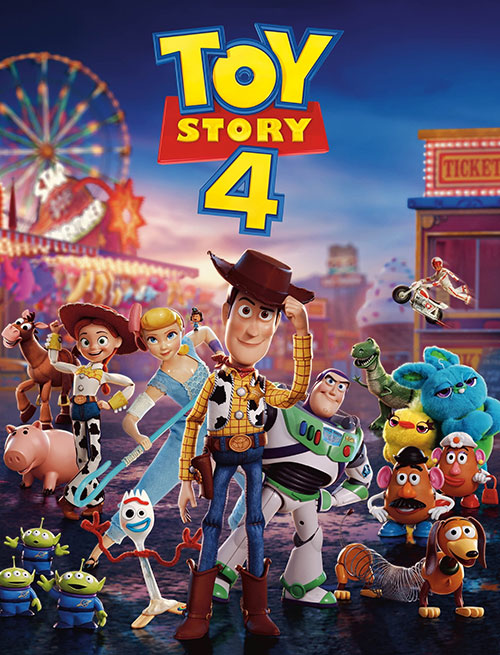 دانلود رایگان انیمیشن داستان اسباب بازی ۴ Toy Story 4 2019 WEB-DL