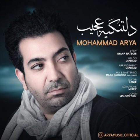 دانلود آهنگ جدید محمد آریا به نام دلتنگیه عجیب
