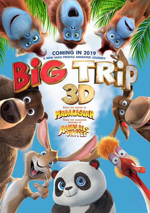 دانلود رایگان انیمیشن سینمایی سفر بزرگ The Big Trip 2019 WEB-DL