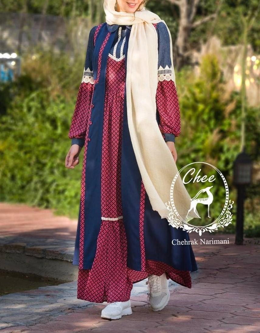 مدل مانتو بلند پوشیده جدید