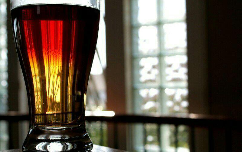 روش ریختن چای دو رنگ
