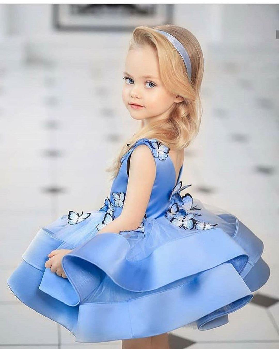 مدل لباس مجلسی دختر بچه جدید 2019