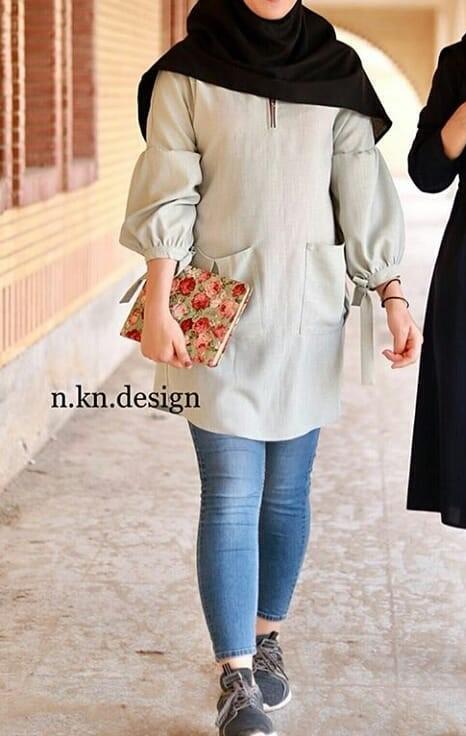 مدل مانتو دانشجویی ۹۸