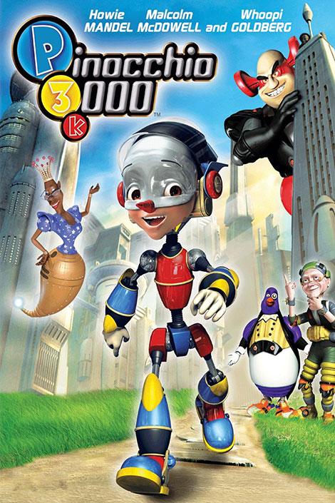 دانلود انیمیشن پینوکیو ۳۰۰۰ با دوبله فارسی Pinocchio 3000 2004