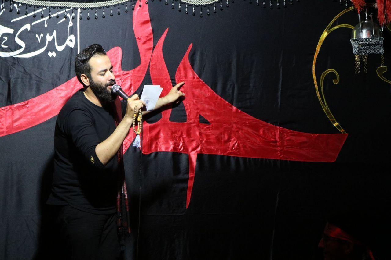 دانلود عکس و والپيپر HD | کربلایی هادی گلستانی شب عاشورای حسینی(ع) محرم الحرام 1398