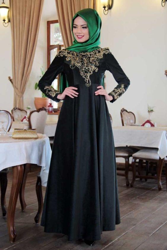 مدل مانتو بلند حجابی