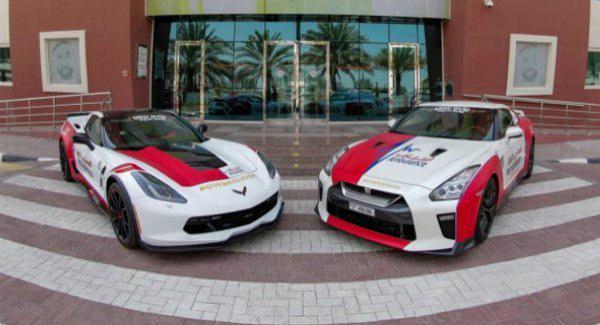 خودروهای عجیب بخش خدمات درمانی دوبی؛ آمبولانس های سوپر اسپرت