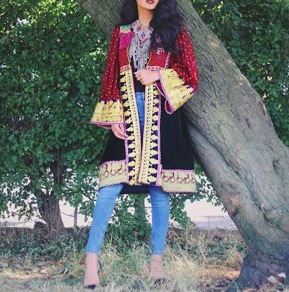 مدل مانتو افغانستان