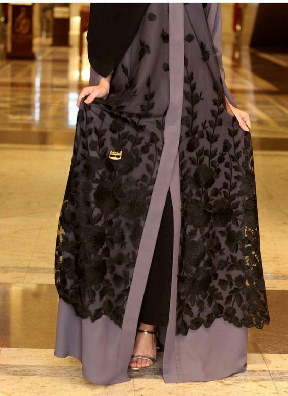 مدل مانتو عبا عربی