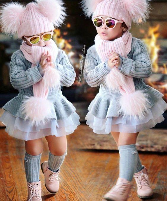 مدل لباس پاییزی بچه گانه دخترانه