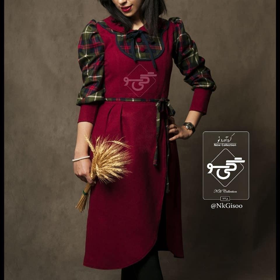مدل مانتو سنتی دخترانه