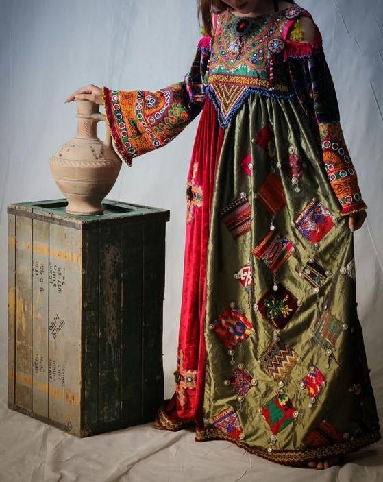 مدل مانتوی افغانی شیک
