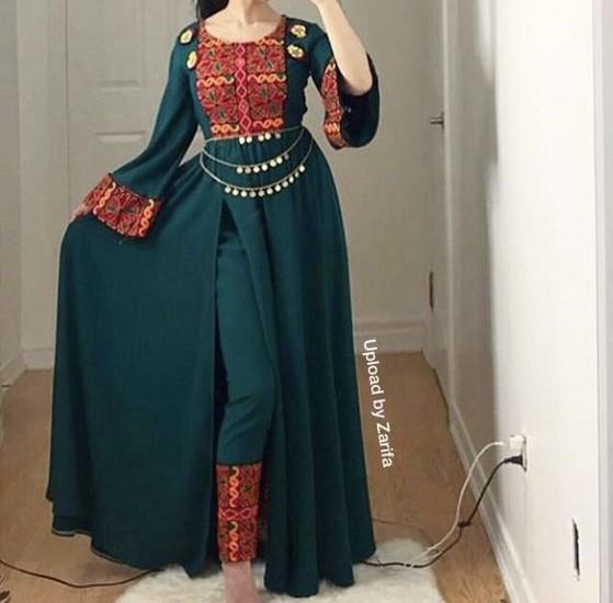 مدل مانتو افغانی ها